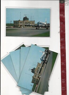 Vintage Lot 5 Cleveland Ohio Hopkins Airport  standard size FREE SHIPPING