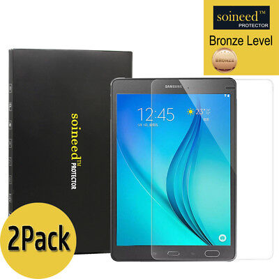 "[2-Pack] SOINEED Samsung Galaxy Tab A 8.0"" T350 Tempered Glass Screen Protector"
