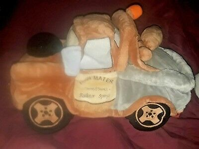 Groovy New Disney Store Cars 2 Tow Mater World Gp Bean Bag Plush Gmtry Best Dining Table And Chair Ideas Images Gmtryco