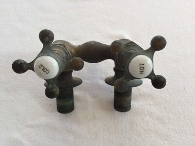 Vintage Hot Cold Water Faucet. No#02