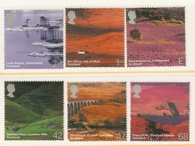 Collectible Great Britain 2003 MNH Stamps: Scotland Scenery