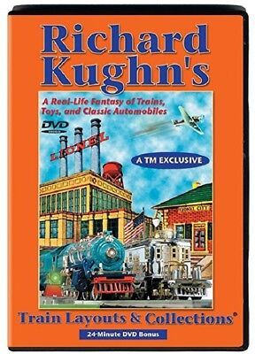 Richard Kughn's Train Layouts & Collections DVD TM EXCLUSIVE 2004