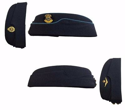 ORIG.& MINT RAF WW2 OFFICER'S FORAGE,Group Captain,Field Service ARMY SIDE CAP