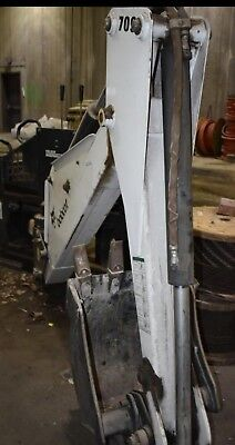 Bobcat 709 Skid Steer - Backhoe Attachment - Used (See Photos)