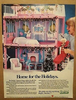 1985 Barbie Glamour Home Mattel Ad