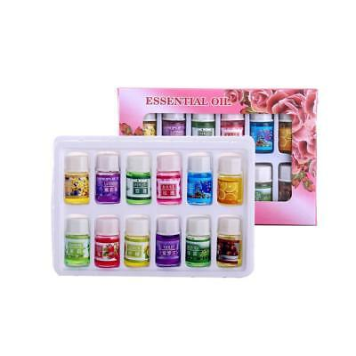 12Scent/Pack Pure & Natural Fruit Plant Essential Water Soluble Oil For Diffuser