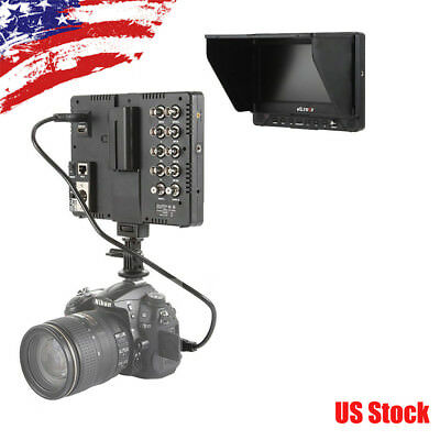 VILTROX DC-70EX 7''Clip-on LCD HD Camera Monitor 1024×600Pixel f Sony CanonDSLRs