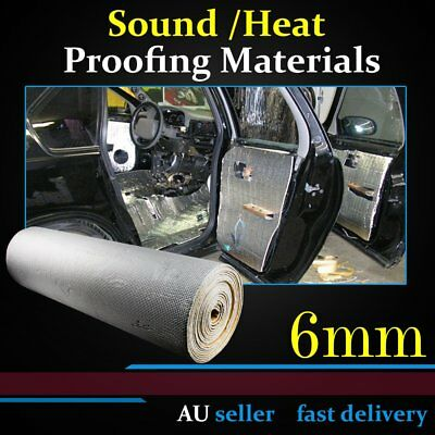 Car Thermal Heat Shield Mat Exhaust Insulation Reduce Sound Blocker Material OZ