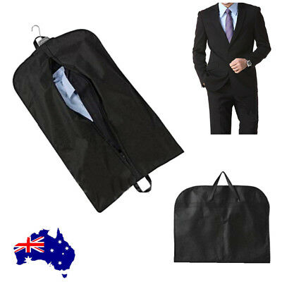 4pcs Dustproof Hanger Coat Clothes Garment Suit Cover Storage Bags