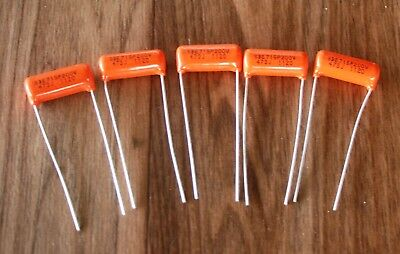 5 Pieces Orange Drop Capacitor SBE 715P 200V 473J 1120 - Suit Fender, Gibson etc