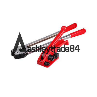 New Manual Steel Strapping Combinatio Tool Machine Strapping Tensioner 12-16mm