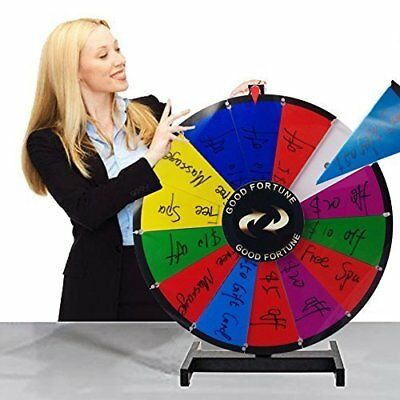 Composable Spinning Prize Wheel Removable Tabletop Spin to Win Wheel Game