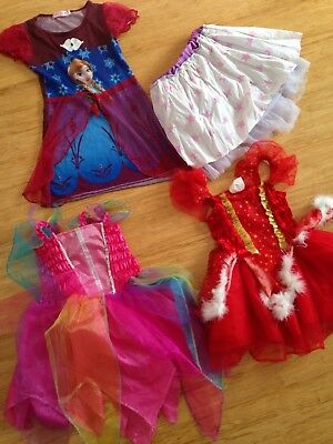 bulk girl dress up costumes 2-4 winter clothes