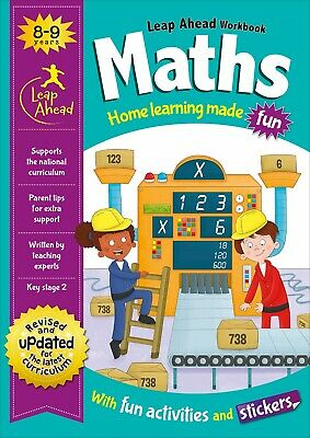 Leap Ahead Maths Workbook From Igloo Books. Childrens Home Learning (Age 4-5)