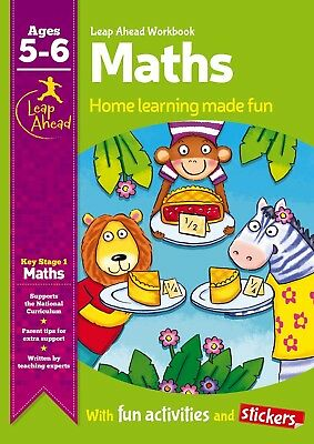 Leap Ahead Maths Workbook From Igloo Books. Childrens Home Learning (Age 5-6)