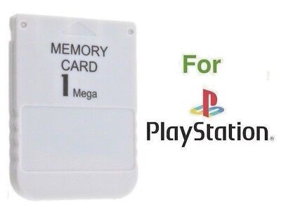 1MB Memory Card Sony Playstation 1 PS1 PS One PSX Console - FREE & FAST SHIPPING
