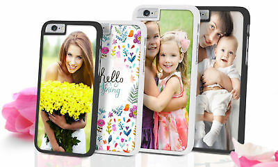 Custom Photo iPhone Case 8 7 6 5 4 S SE & Plus Personalized Gift Luxury Picture