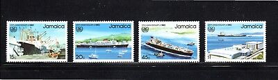 Jamaica 1983 25th Anniv. International Maritime Organisation SG 579/82 MUH
