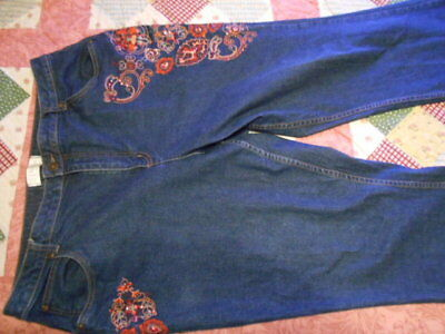 C. J. Banks Embellished Jeans New Without Tag  18W Stretch