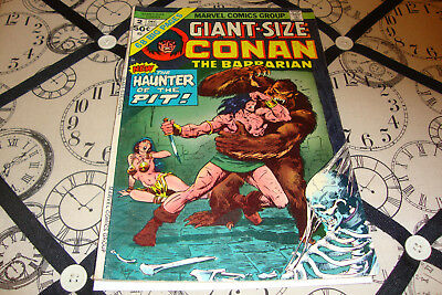 Giant-Size Conan the Barbarian #2 (Dec 1974) Bronze Age Marvel Comic VG/FN