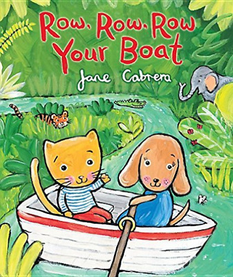 Cabrera Jane-Row Row Row Your Boat  (US IMPORT)  HBOOK NEW