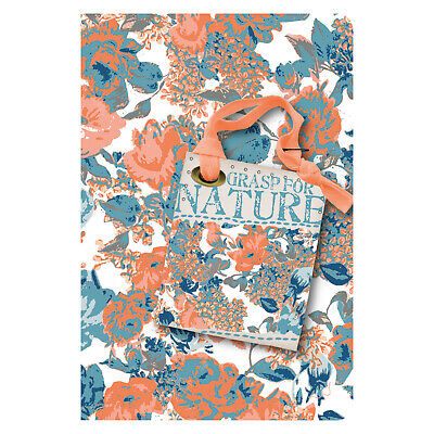 """5er Pack Softcover Notizheft liniert /""""Memo my style Tropical Paradise/"""" 8 x 13 cm"""