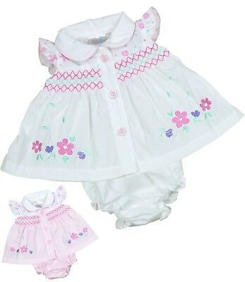 BabyPrem Premature Baby Clothes Girls Summer Dresses Tiny Dress Set 3 - 8lb