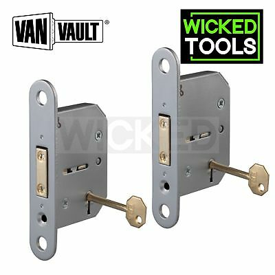 Van Vault Replacement 5 Lever Lock Twin Pack Fits 4 Site Chem Fire & Store Boxes