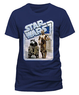 Star Wars 'Droids Retro Badge' T-Shirt - NEW & OFFICIAL!