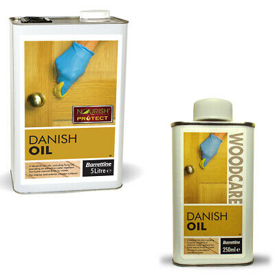 Danish Oil for wood and worktops natural oils soft finish