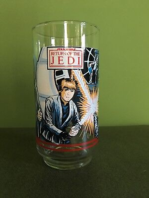 Vintage Star Wars Return Of The Jedi 'Collector Series' Coca-Cola Glass
