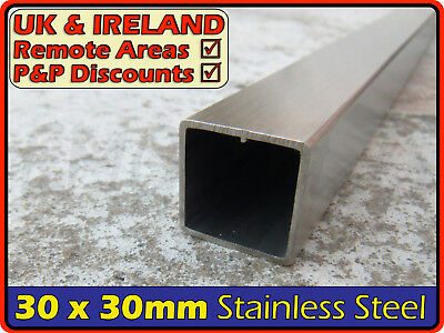 Stainless Steel Square Tube ║30 x 30 mm║ box section iron,profile,tubing,pipe