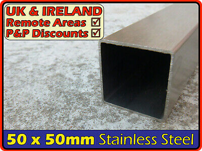 Stainless Steel Square Tube ║ 50 x 50 mm ║ box section iron,profile,post,pipe
