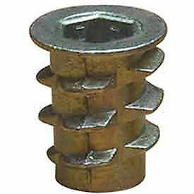 EZ Lok 901420-13, 1/4-20 Insert For Soft Wood, Flanged, Lot of 100