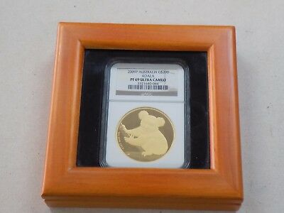 2009 $200 Australia Proof Gold Koala 2Oz Coin Ngc Pf69 Ultra Cameo