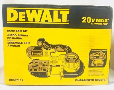 Brand New DEWALT DCS371P1 20V MAX Li-Ion Cordless Band Saw Kit