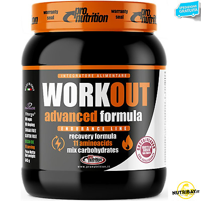 Pronutrition Workout 645 gr Pre Intra e Post Workout completo