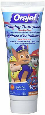 Orajel Paw Patrol Toddler Training Toothpaste Tooty Fruity Flavor 1.50 oz
