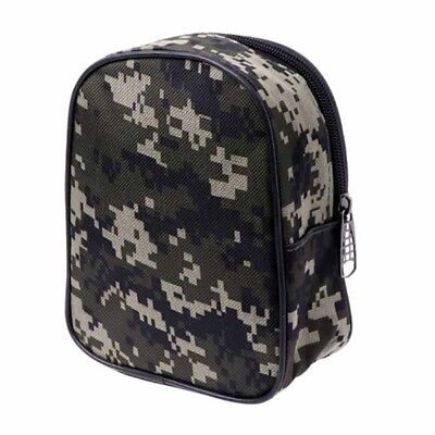 Portable Fishing Reel Mini Bag Pocket Fishing Tackle Pouch Case Outdoor Sports#