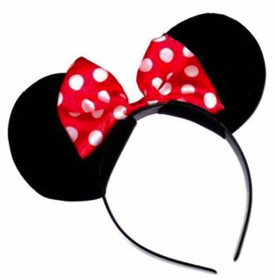 Mickey Mouse Minnie Mouse Hairband Ear Headbands Women Girls Disney Party