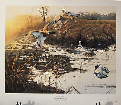 """SUNSET RETREAT""   Print by Jan Martin McGuire"