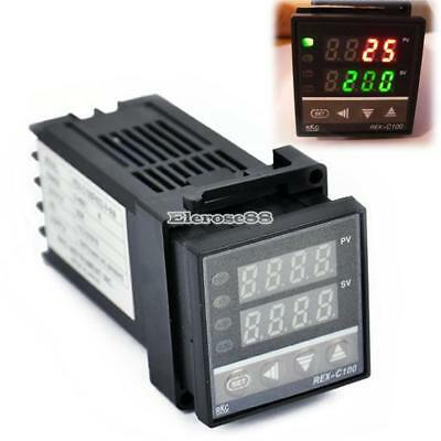 New PID Digital Temperature Control Controller Thermocouple 0 to 400℃ ElR8 03