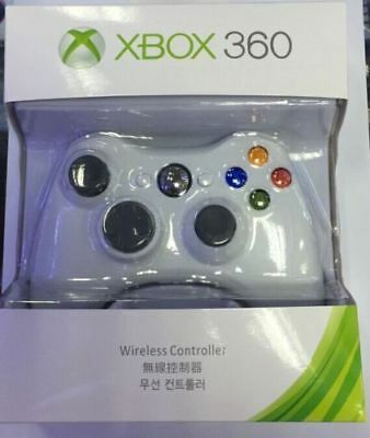 Official Microsoft Xbox 360 Wireless Controller (White) - NEW! US Stock
