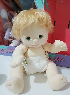💗 Mattel My Child Doll 💕 LiL Baby Boy💓 Blonde/Green/Peach/Pink/Pampers/Nude💗