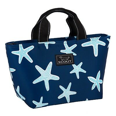 """SCOUT Nooner insulated lunch tote bag *NEW PATTERN """"Fish Upon a Star"""" starfish"""