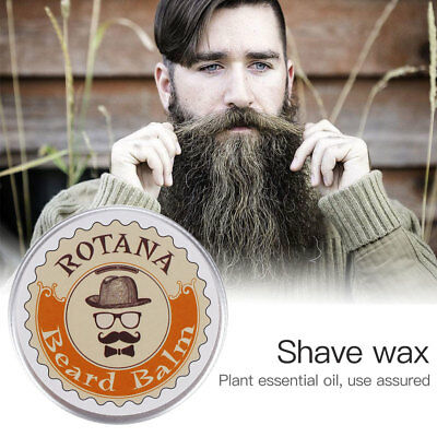 Men's Plant Shave Beard Mustache Oil Cleansing Purifying Essential Oils Wax 30Ml