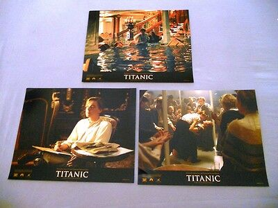 Titanic (1997) Original9 Lobby Cards Set11X14 Inchs  New