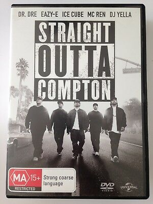 STRAIGHT OUTTA COMPTON R4 DVD Free Post