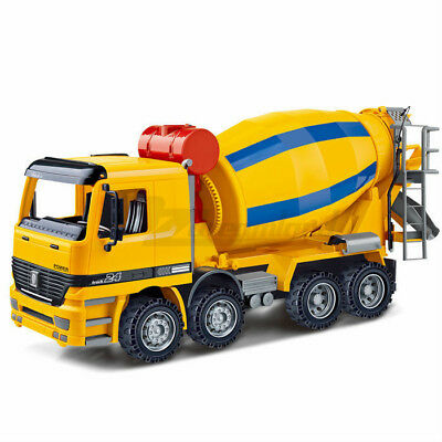 1:22 Cement Mixer Truck Construction Vehicle Toy Friction Powered