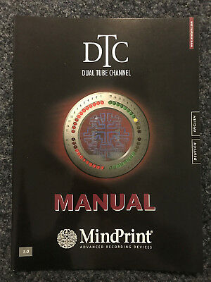 MindPrint | DTC | Dual Tube Channel | Manual | Bedienungshinweise | DE | EN